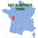 DEUX SEVRES (Lezay, La Mothe, Parthenay) 79