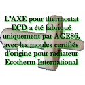 Axe thermostat certifié d'origine ECD
