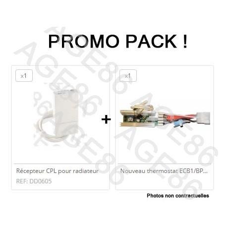 Pack récepteur + Thermostat ECB2