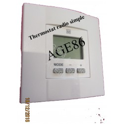 Thermostat radio d'ambiance SIMPLE