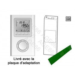Kit d'évolution RADIO - Radiateur ECD sans REPRISE THERMOSTAT