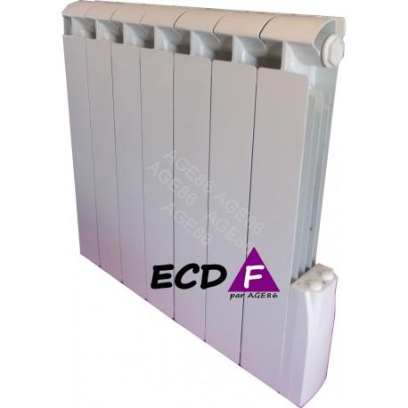 Radiateur ECDF 900W Inertie Fluide