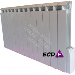 Radiateur ECDF 2000W Inertie Fluide