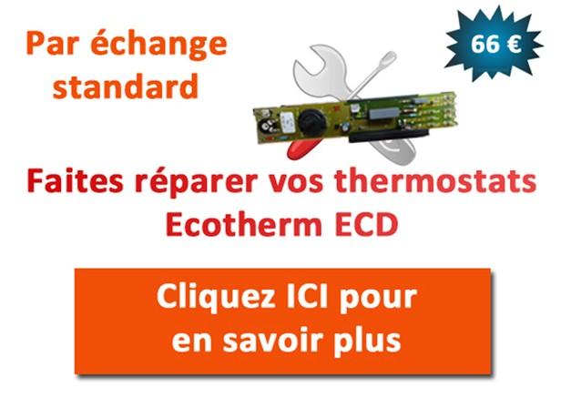 Réparation thermostats de radiateurs ECD Ecotherm