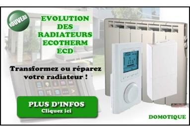 Evolution radiateur Ecotherm ECD