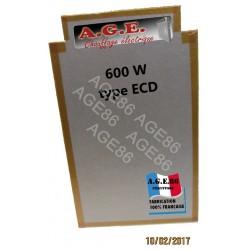 Résistance 600 W Ecotherm et TunTherm