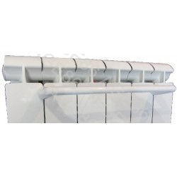 Barre Porte-Serviettes 32 cm Blanche