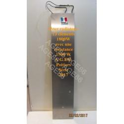 Résistance compatible 1800W radiateur Ecotherm et TunTherm